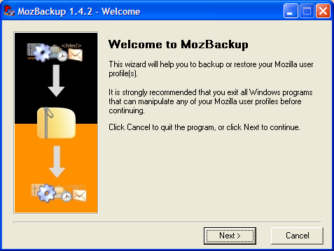 Backup  Restore Mozilla profiles